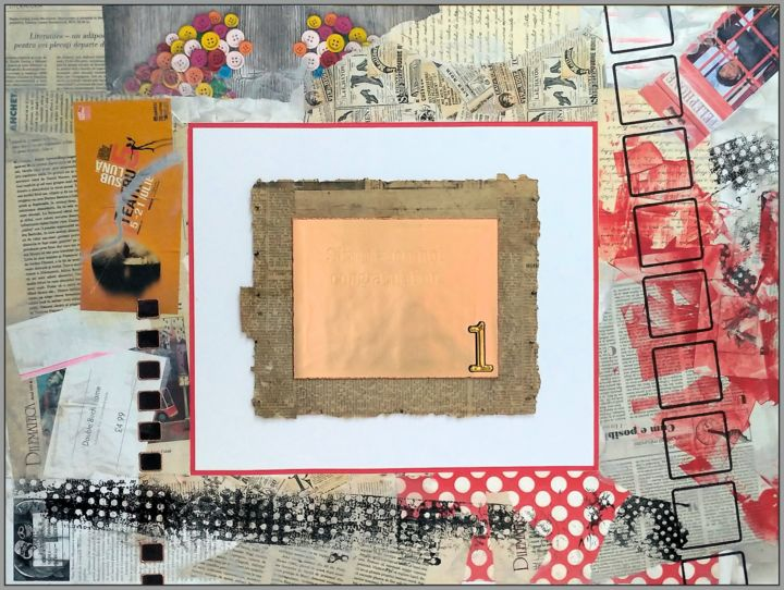 """Collages titled """"A dadaist frame for…"""" by Viorel Florin Costea (DadaVFC), Original Art, Collages"""
