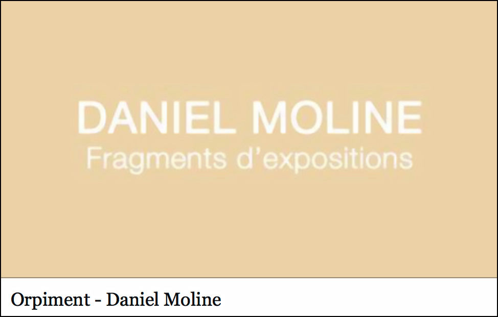 fragments d'expositions