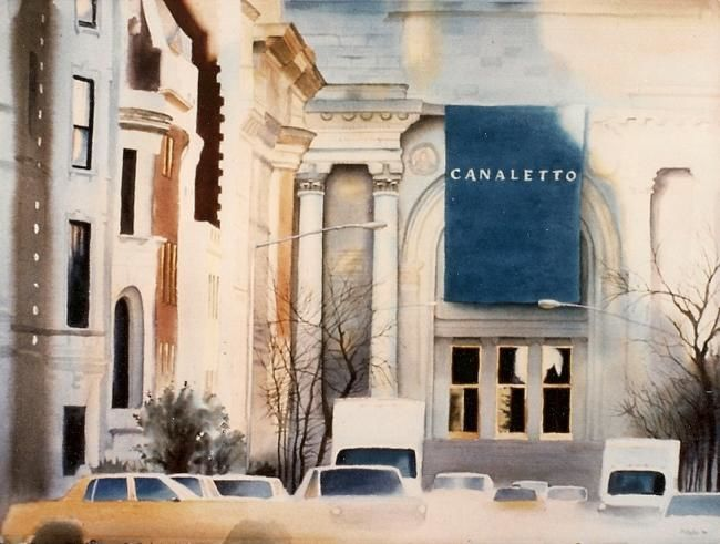 """Painting titled """"Canaletto - Metropo…"""" by Daniel Dayley, Original Art, Oil"""