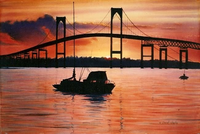 """Painting titled """"Sailor's Delight"""" by Daniel Dayley, Original Art, Oil"""