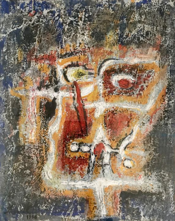 """Painting titled """"Untitled 30"""" by Danil (Panagopoulos), Original Art, Oil"""