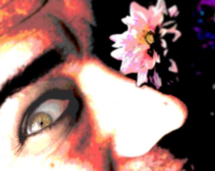 Flower and the beast with eyes that have seen beauty and paing flower and the beast with eyes that have izmirmasajfo