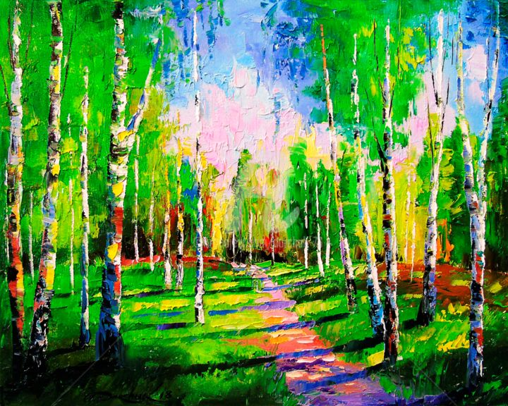 The road to the birch grove (OLHA)