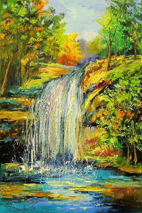 Waterfall in the forest (OLHA)