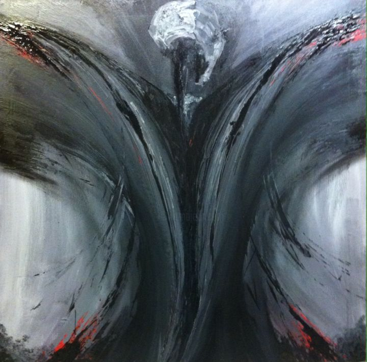 """Painting titled """"""""The Undertow Of Go…"""" by Niall Parkinson, Original Art,"""