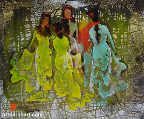 """Painting titled """"dattq1-27"""" by Dat Tran Quoc, Original Art,"""