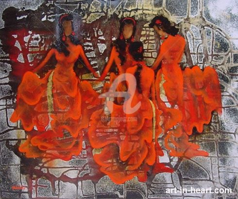 """Painting titled """"dattq1-24"""" by Dat Tran Quoc, Original Art,"""
