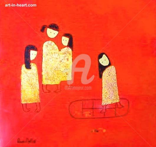 """Painting titled """"dattq1-15"""" by Dat Tran Quoc, Original Art,"""