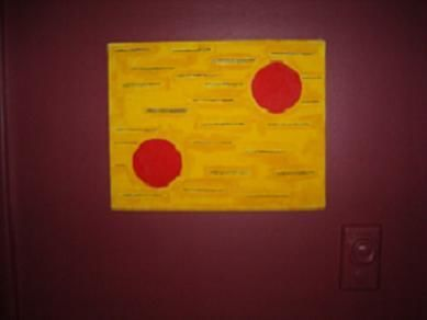 """Painting titled """"bus dream"""" by David Edwards, Original Art,"""