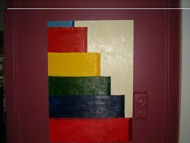 """Painting titled """"up the down stair c…"""" by David Edwards, Original Art,"""