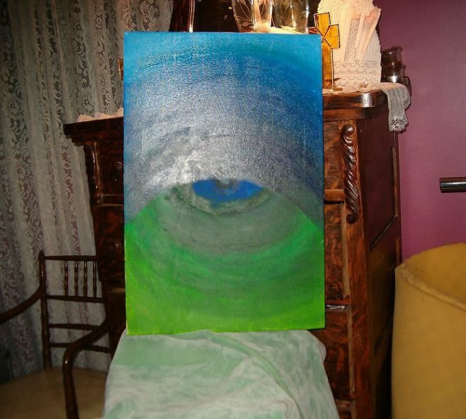 """Painting titled """"eye of the beholder"""" by David Edwards, Original Art,"""