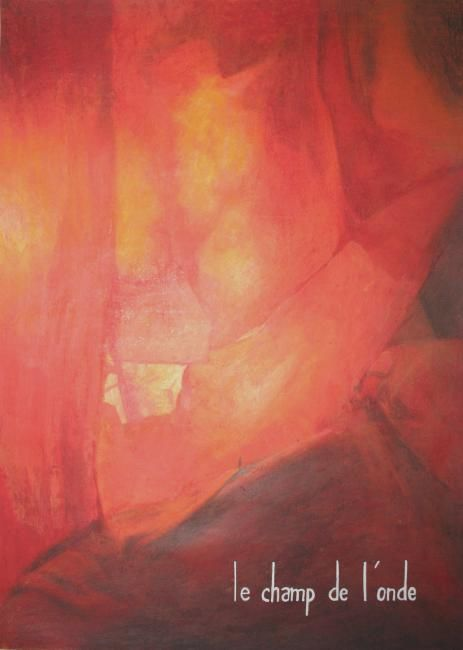 couverture - Drawing,  16.5x11.4 in, ©2003 by David Peyrou -