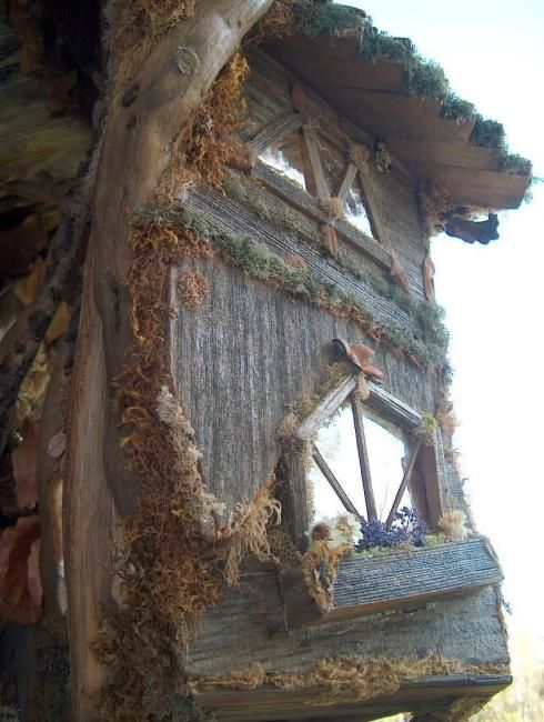 """Photography titled """"The Fairy Treehouse…"""" by Debbie And Mike Schramer, Original Art, Digital Photography"""