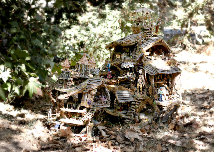 """Photography titled """"The Fairy Castle an…"""" by Debbie And Mike Schramer, Original Art, Digital Photography"""