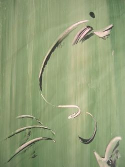 detail 24 - Painting, ©2007 by FINE A. DEL -