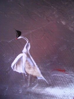 detail 37 - Painting, ©2007 by FINE A. DEL -