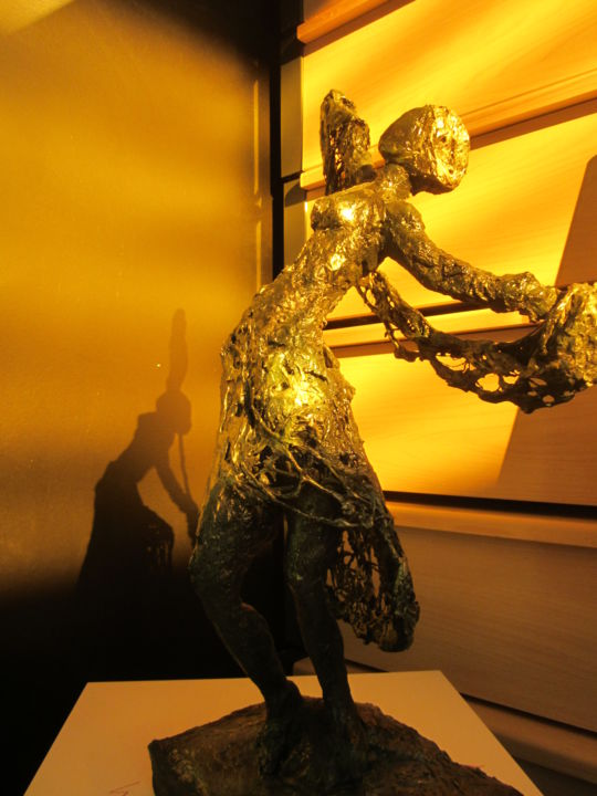 La danse - Sculpture, ©2015 by Denise Adolle Arquilliere -