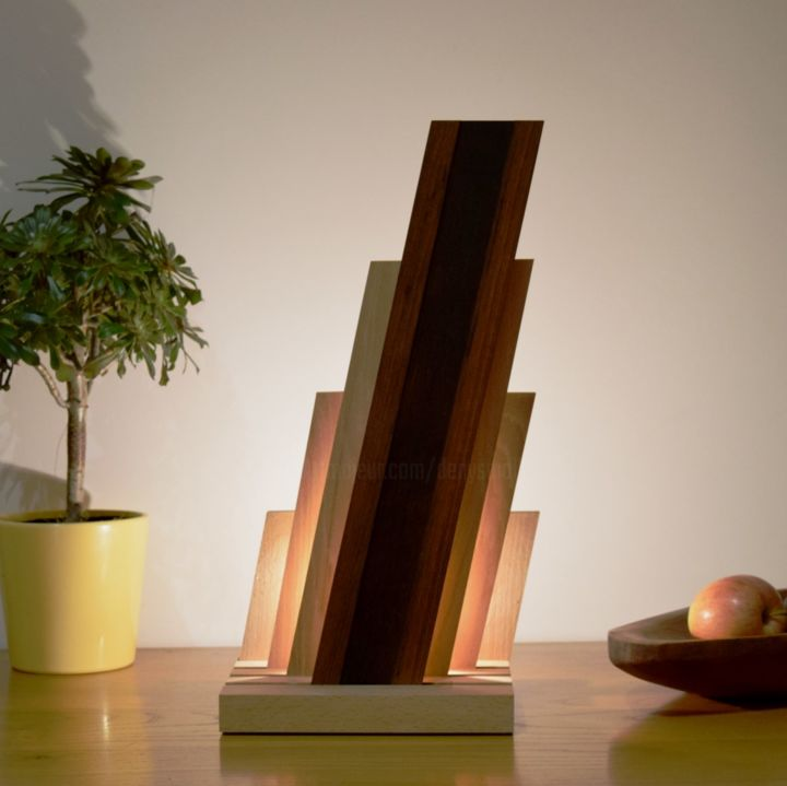 devaro - ©  sculpture lumineuse, lampe LED, lampe design Online Artworks