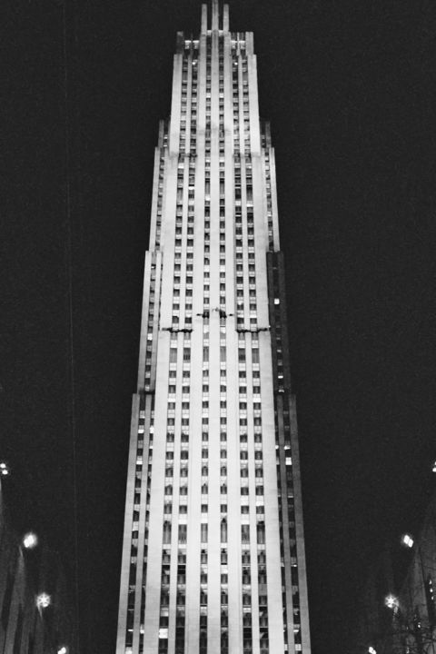 """Photography titled """"30 Rockefeller Cent…"""" by Diana Rivera, Original Art, Analog photography"""