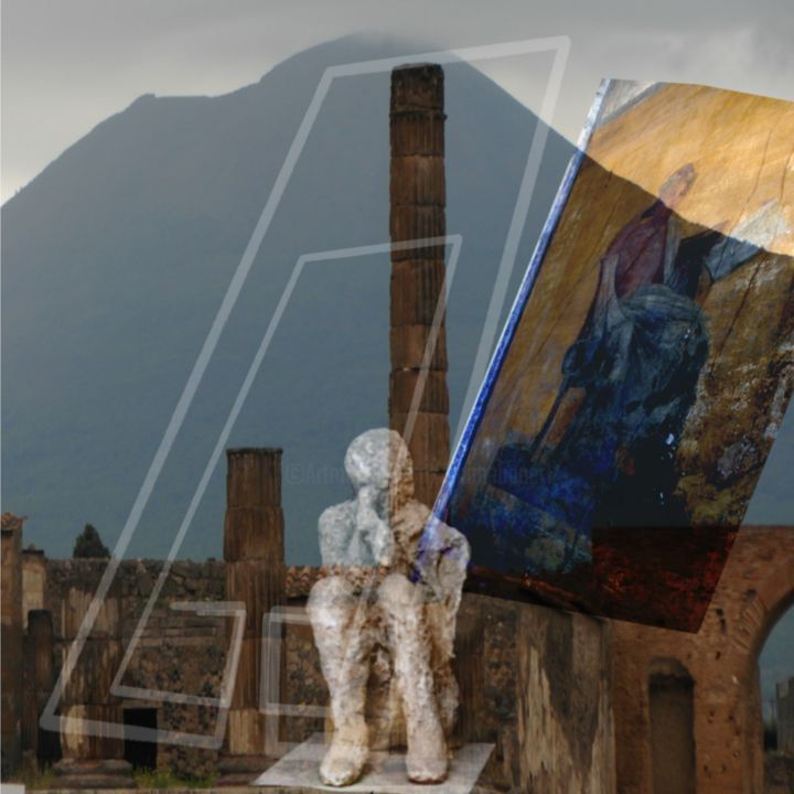 """Digital Arts titled """"In the shadow of th…"""" by Dianne Bauer, Original Art, Photo Montage"""