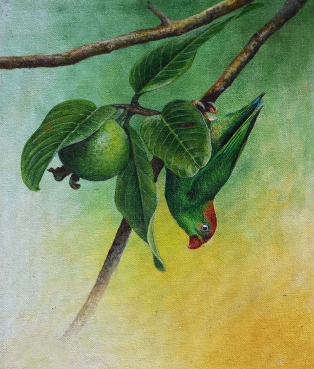 The Ripened Fruit Painting By Dilrukshi Chandrika Artmajeur