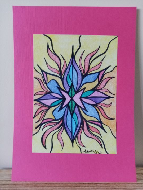 """Painting titled """"Truth"""" by Divinecreations, Original Art, Pencil"""