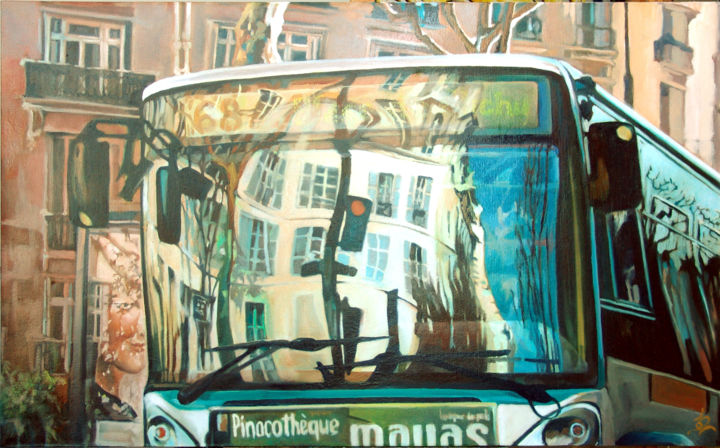 Big bus - ©  Paris, Dominique Cros Online Artworks