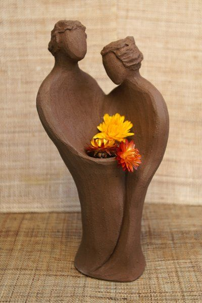 Promesse - Sculpture,  9.8 in, ©2010 by Domino -