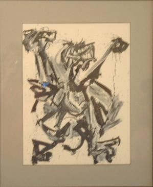 """Drawing titled """"Abstract"""" by Don Fullen, Original Art,"""