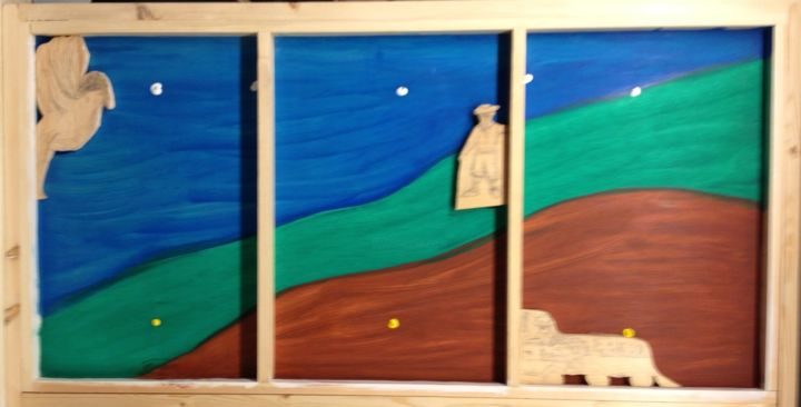 """Painting titled """"the-other-side.jpg"""" by Dovber Marchette, Original Art,"""