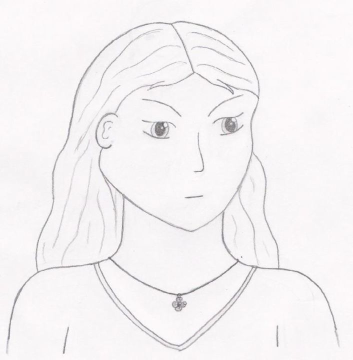 Casey - Drawing, ©2004 by Gwen -