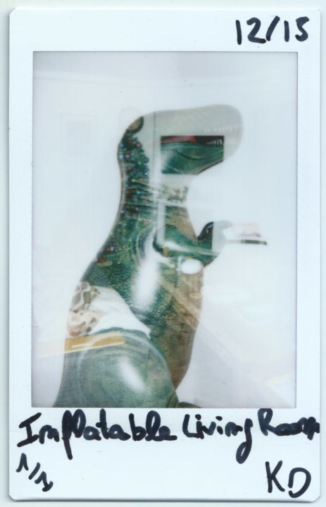 """Photography titled """"Inflatable T-Rex"""" by Kevin Dray, Original Art, Other"""