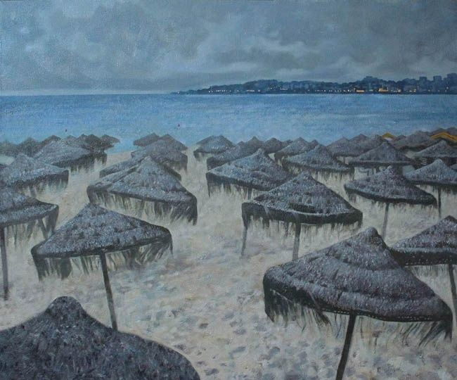 the end of season - Painting,  75x70 cm ©2012 by stasd -