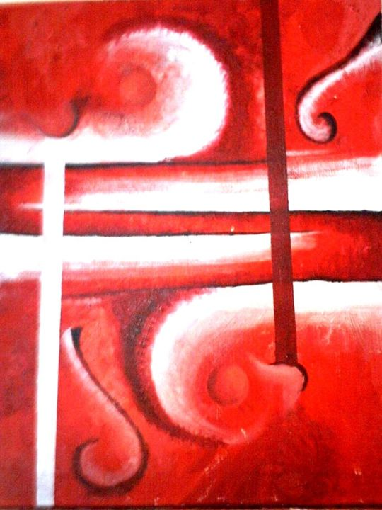 """Painting titled """"at.jpg"""" by Durbic Aaba, Original Art,"""