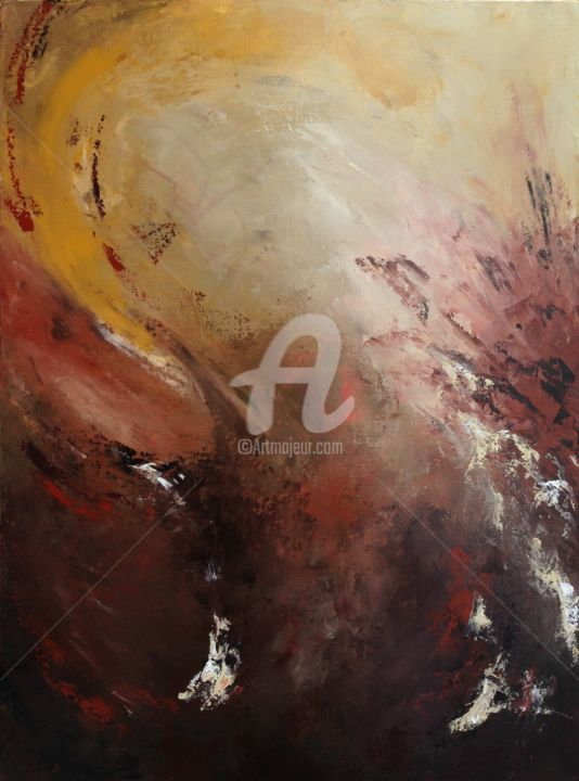 """Painting titled """"Sirocco"""" by David Vall, Original Art, Acrylic"""