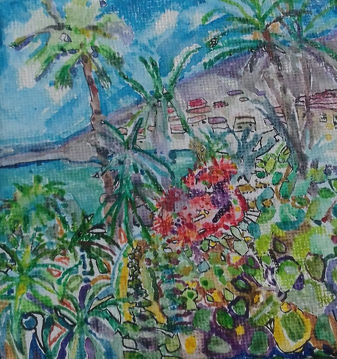 cap d'antibes - ©   Online Artworks