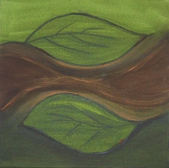 """Painting titled """"September"""" by Gina Acord, Original Art,"""