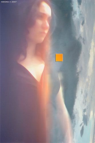 APPARITION - Digital Arts,  60x40 cm ©2007 by Edcha -