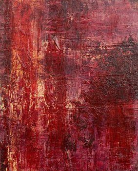 """Painting titled """"Wounded Soul"""" by Elly B, Original Art, Acrylic"""