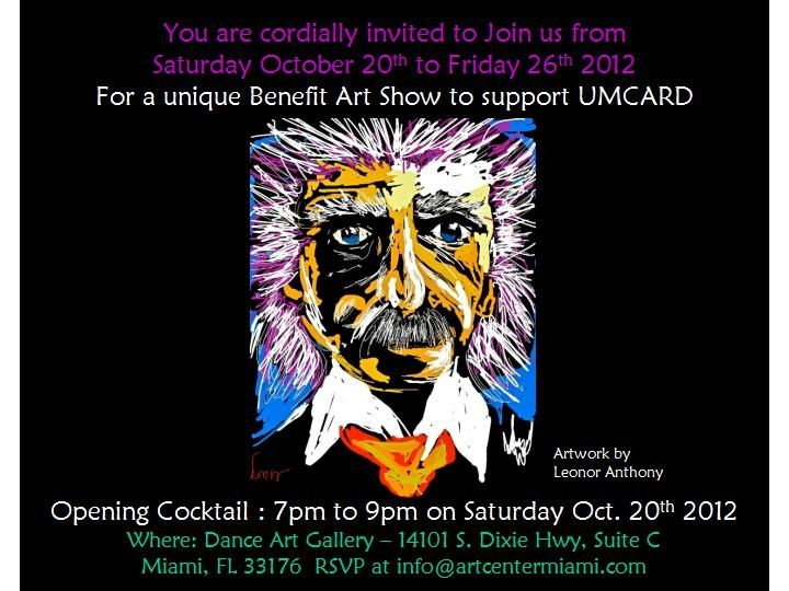 Benefit Art Show to support UMCARD