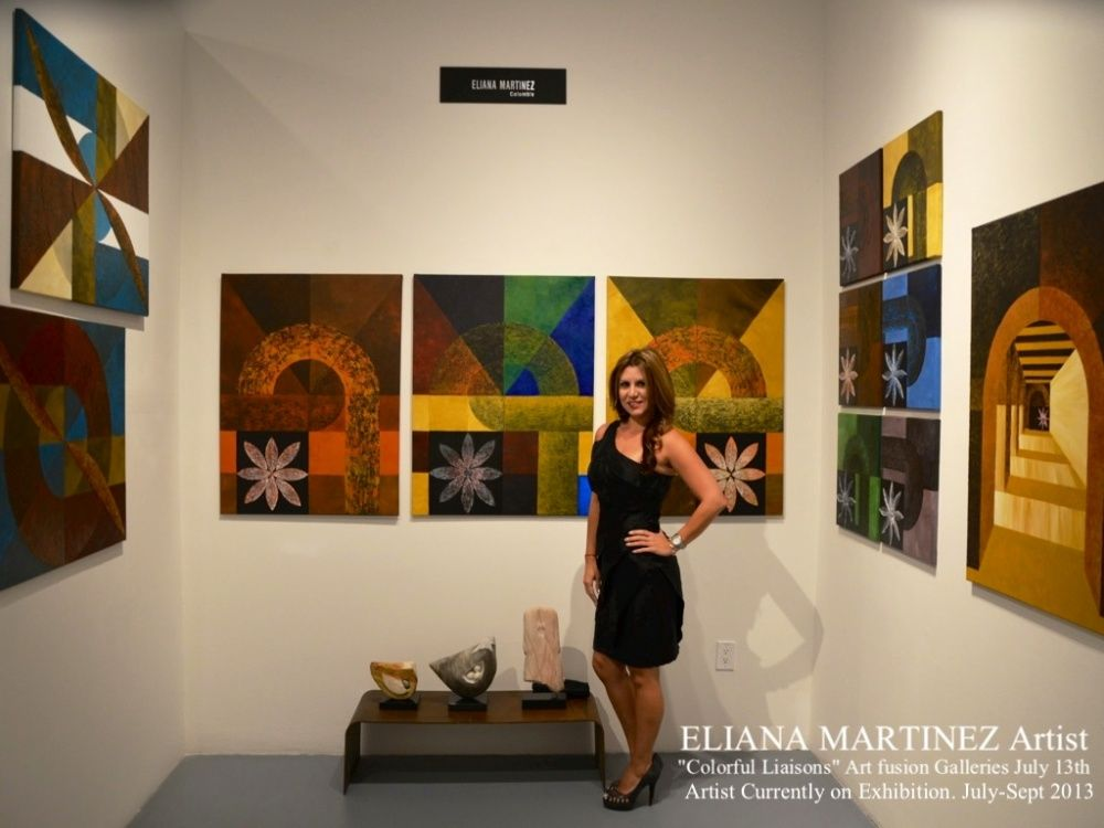 """Colorful Liaisons"" Art Fusion Galleries"