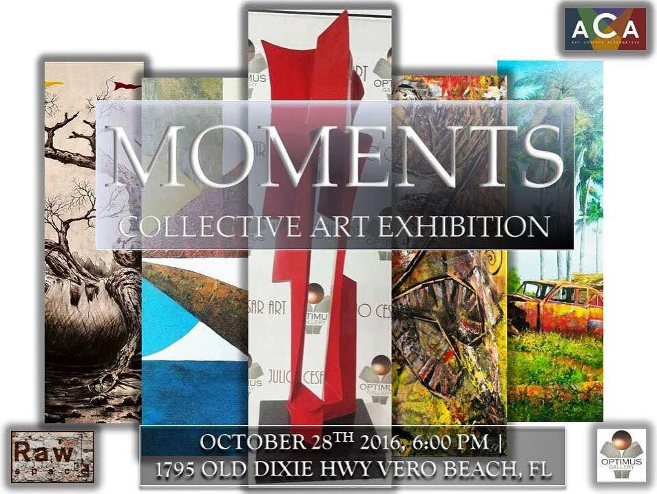 MOMENTS Collective Art Exhibition  2016