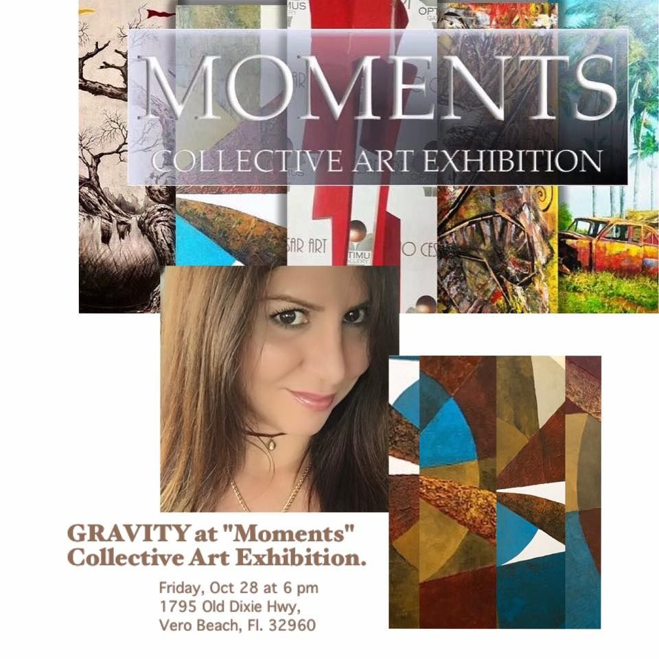 "GRAVITY at ""Momets"" Collective Art Exhibition"