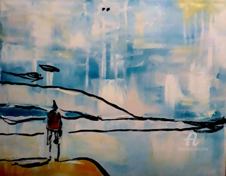 nothing-nothing. nothing - © 2018 ericdhulst, peintre chinois connu, la galerieo, st gervais Œuvres-d'art en ligne