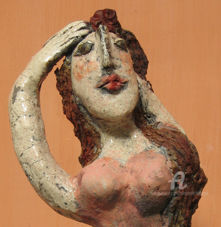 la rousse( detail) - Sculpture, ©2007 by Elisabeth Brainos -