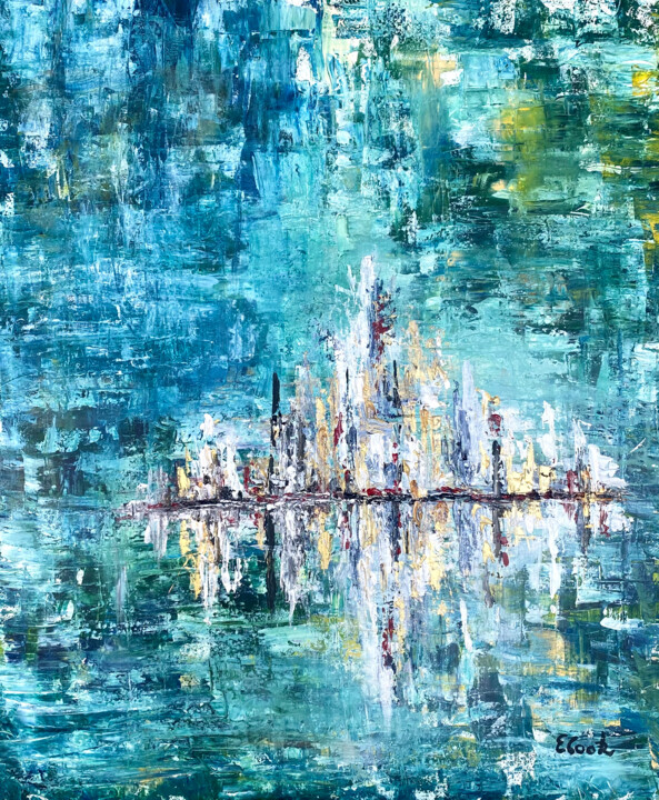 """Painting titled """"Cruising South"""" by Elisa Cook, Original Art, Acrylic"""