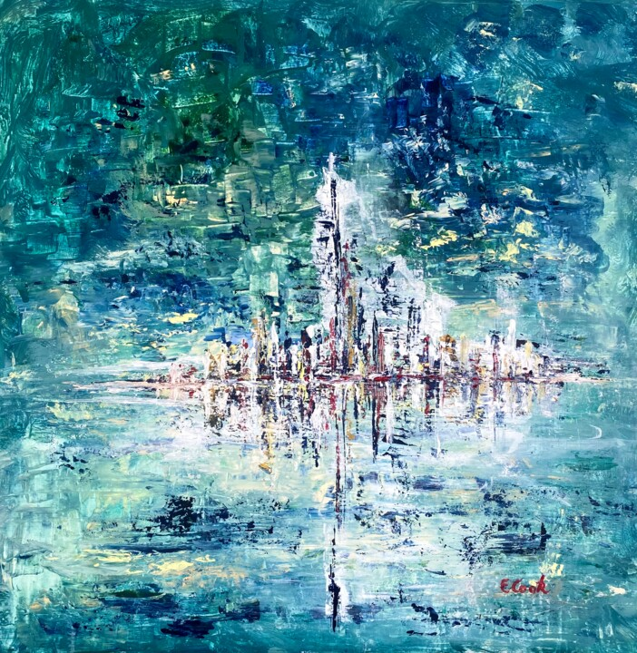 """Painting titled """"Standing Tall"""" by Elisa Cook, Original Art, Acrylic"""