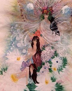 """Painting titled """"MAGNIFICENCE"""" by Eloryia Ra, Original Art, Other"""
