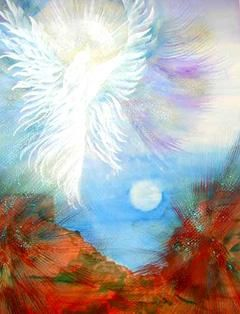 """Painting titled """"SEDONA BLESSINGS"""" by Eloryia Ra, Original Art, Other"""
