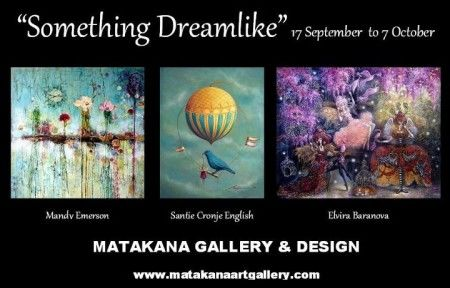 Art Show 'SOMETHING DREAMLIKE' A TOUCH OF FANTASY